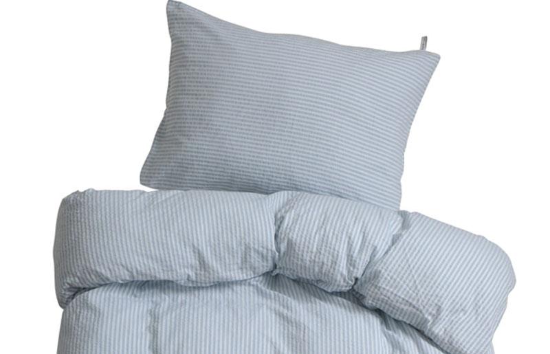 200x200 cm : krepp dobbelt sengetøj fra hØie   drØm denim