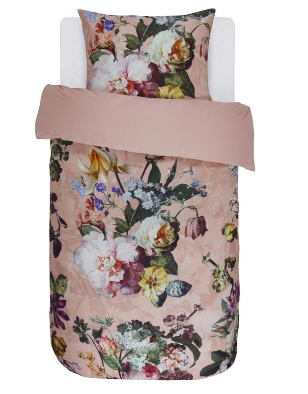 essenza sengetøj Sengetøj 140x200 cm : Luksus sengetøj fra ESSENZA   FLEUR ROSE 200 essenza sengetøj