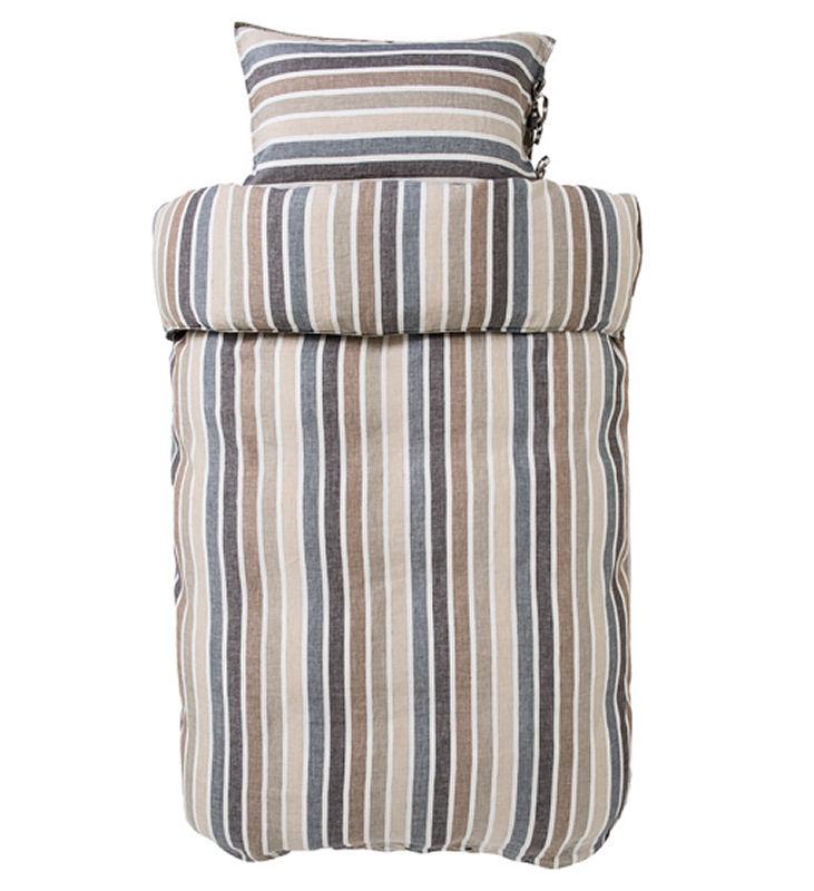 Afholte Sengetøj 140x220 cm : Luksus Hør sengetøj fra HØIE - IDA NATUR 220 CD-27