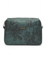 Carole vivienne green cosmetic bag